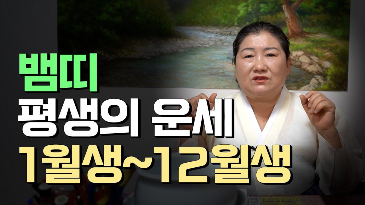 태어난 월로 보는 '뱀띠 평생의 운세'(1월생~12월생) [용한점집]