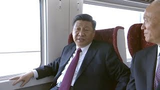 President Xi takes airport express to opening of Beijing's new airport