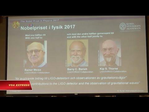 Công bố chủ nhân Giải Nobel Vật lý 2017