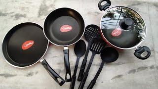 Best non stick cookware set reviews Pigeon 8 non stick Set
