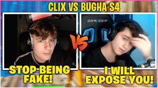 CLIX *FINALLY* Challenged BUGHA To Settle Their BEEF In 3v3 Zone Wars Wagers Then This Happened!