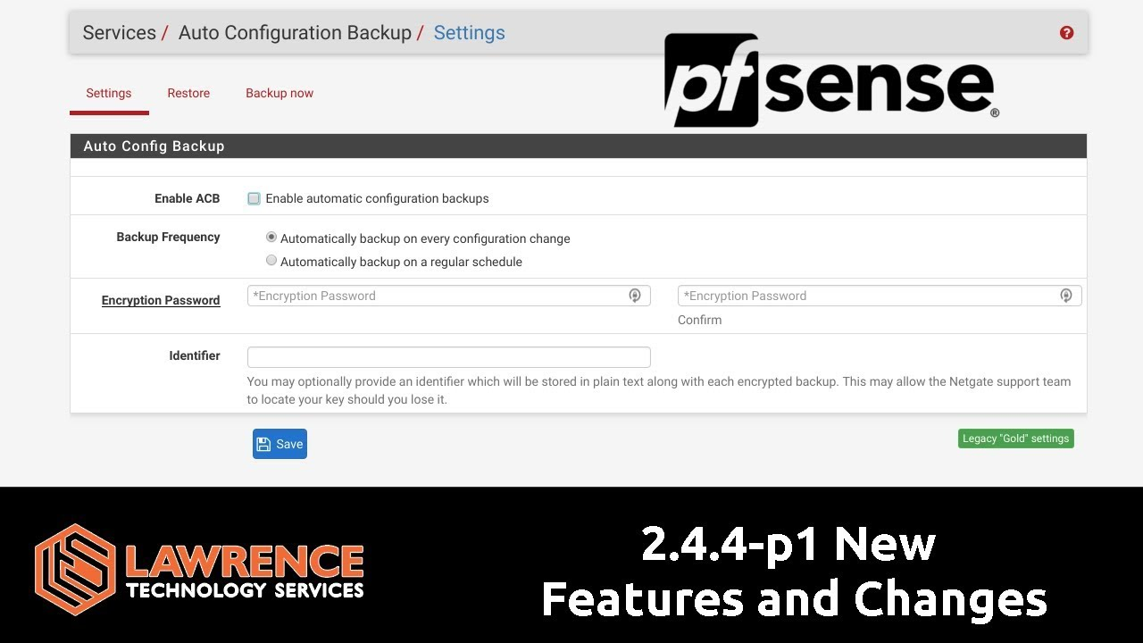 pfsense 2 4 4-p1 New Features and Changes including SSH