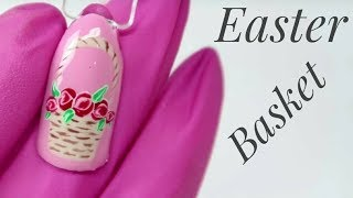 💅💅 Easter Nails 💅💅 :: Basket full of Flowers :: Nailart by Natalia