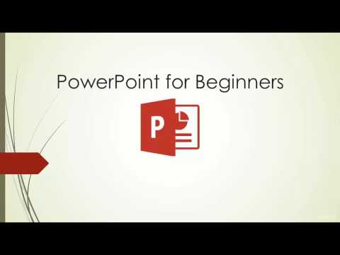 Microsoft PowerPoint 2016 - Full Tutorial for Beginners