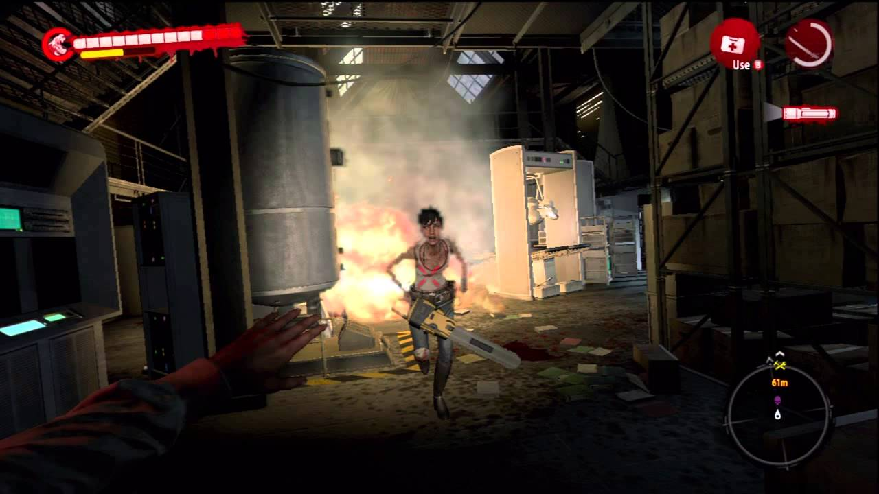 Oh No Not This Again >> Dead Island Riptide: Harlow Scary Chainsaw Last Boss/Death Scene - YouTube