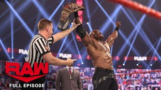 WWE Raw Full Episode, 1 March 2021