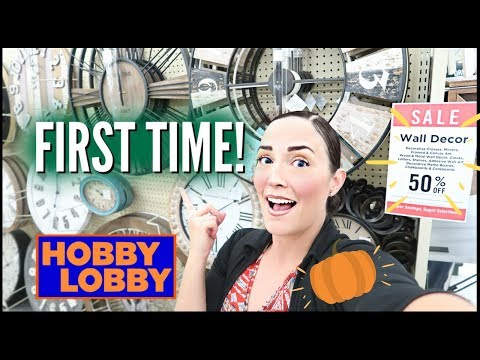 🍂FIRST TIME at HOBBY LOBBY FALL SALE 2019 🧡FRUGAL INTENTIONAL SHOPPING ➡ SHOP WITH ME + HAUL 🧡