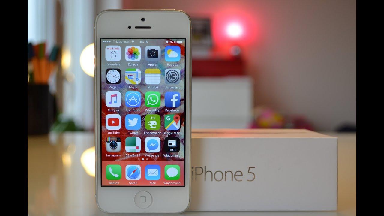 dlaczego iphone 5s