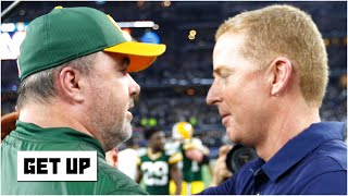 Comparing Jason Garrett and Mike McCarthy's coaching styles | Get Up