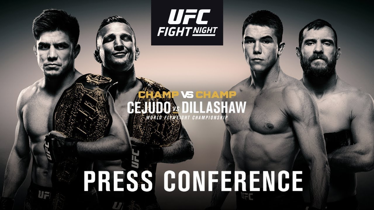Ufc Fight Night Brooklyn Pre Fight Press Conference Youtube