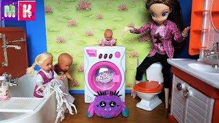 КАТЯ И МАКС ВЕСЕЛАЯ СЕМЕЙКА. У НАС ЗАВЕЛСЯ ПАУЧОК. Мультики с куклами #Барби #yellies