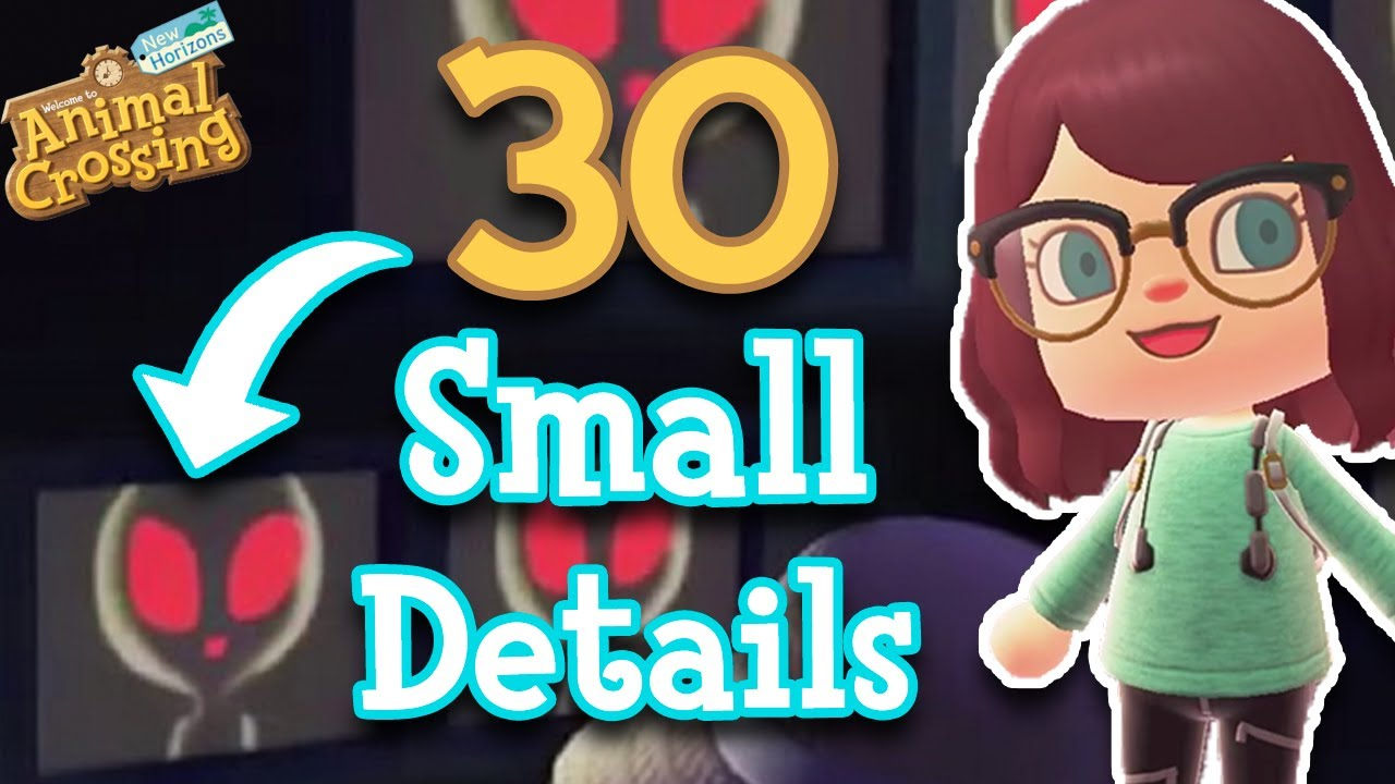 30 Small Details You Might Have Missed in Animal Crossing: New Horizons