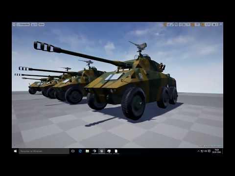 Unreal Engine 4 - Cascavel e Urutu