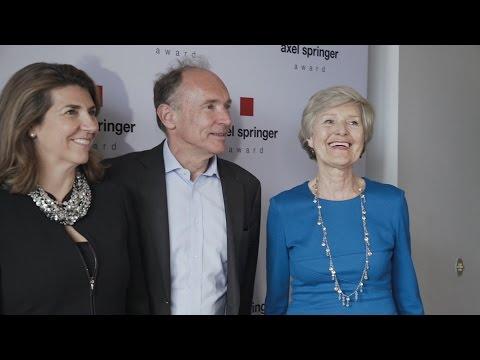 Axel Springer Award 2017 for Sir Timothy Berners-Lee