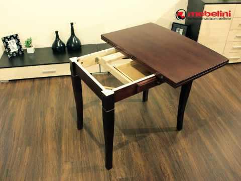 Как сделать обеденный стол своими руками из дерева видео