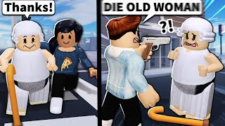 Would you help or HURT this Roblox grandmother?