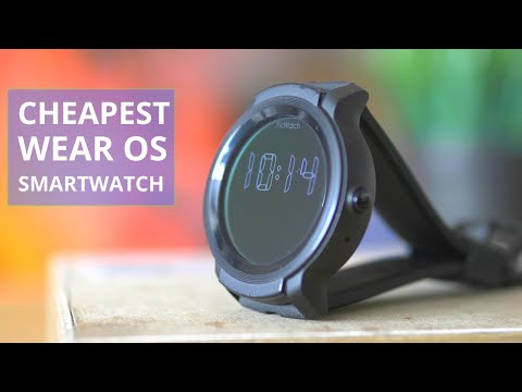 The Cheapest Wear OS Smartwatch 10 Months Later: Ticwatch E2 Review And Test