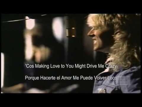 Def Leppard - Love Bites - Subtitulada al Español y al Ingles HD