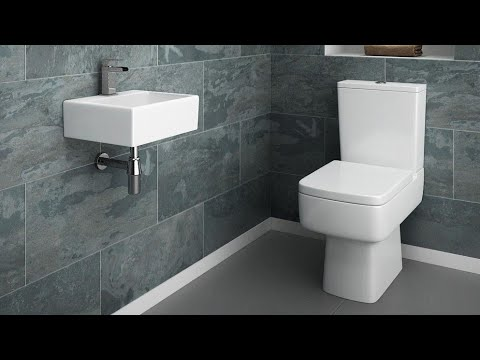 Simple Sober And Stylish Toilet, Simple Bathroom Designs