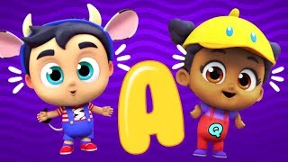 The Sounds That Letters Make   ABC Song   Phonics Song    Nursery Rhymes for Kids