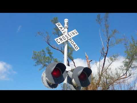 Unused Railroad Crossing Activated 1st Time in Years