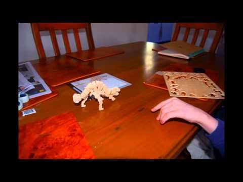 Liam builds an Ankylosaur