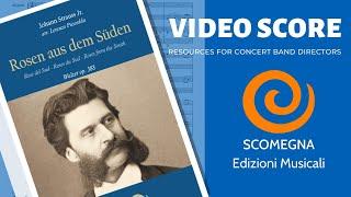 ROSEN AUS DEM SÜDEN - Johann Strauss Jr. , arr.  Lorenzo Pusceddu