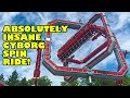 Cyborg Spin ABSOULTELY CRAZY Ride at Six Flags Great Adventure! Test Run & Full Onride POV