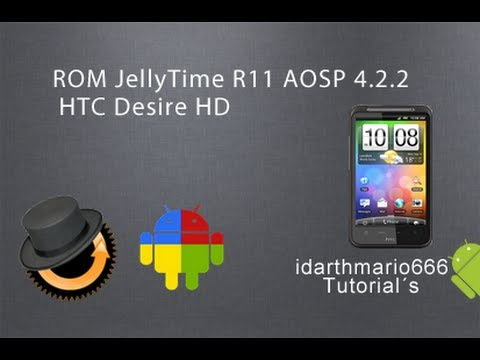 ROM:JellyTime R11 para HTC Desire/HD Inspire 4G