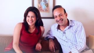 Happy Valentines Day From Rahul And Amrita Raichand    Red Velvet Pancakes