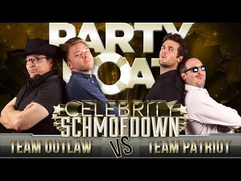 "Brett Davern & Beau Mirchoff from ""Party Boat"" Compete in the Movie Trivia Celebrity Schmoedown"