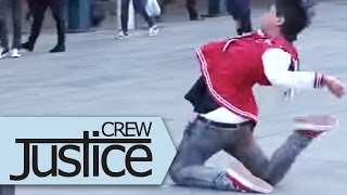 Justice Crew Flash Mob Dance at Martin Place