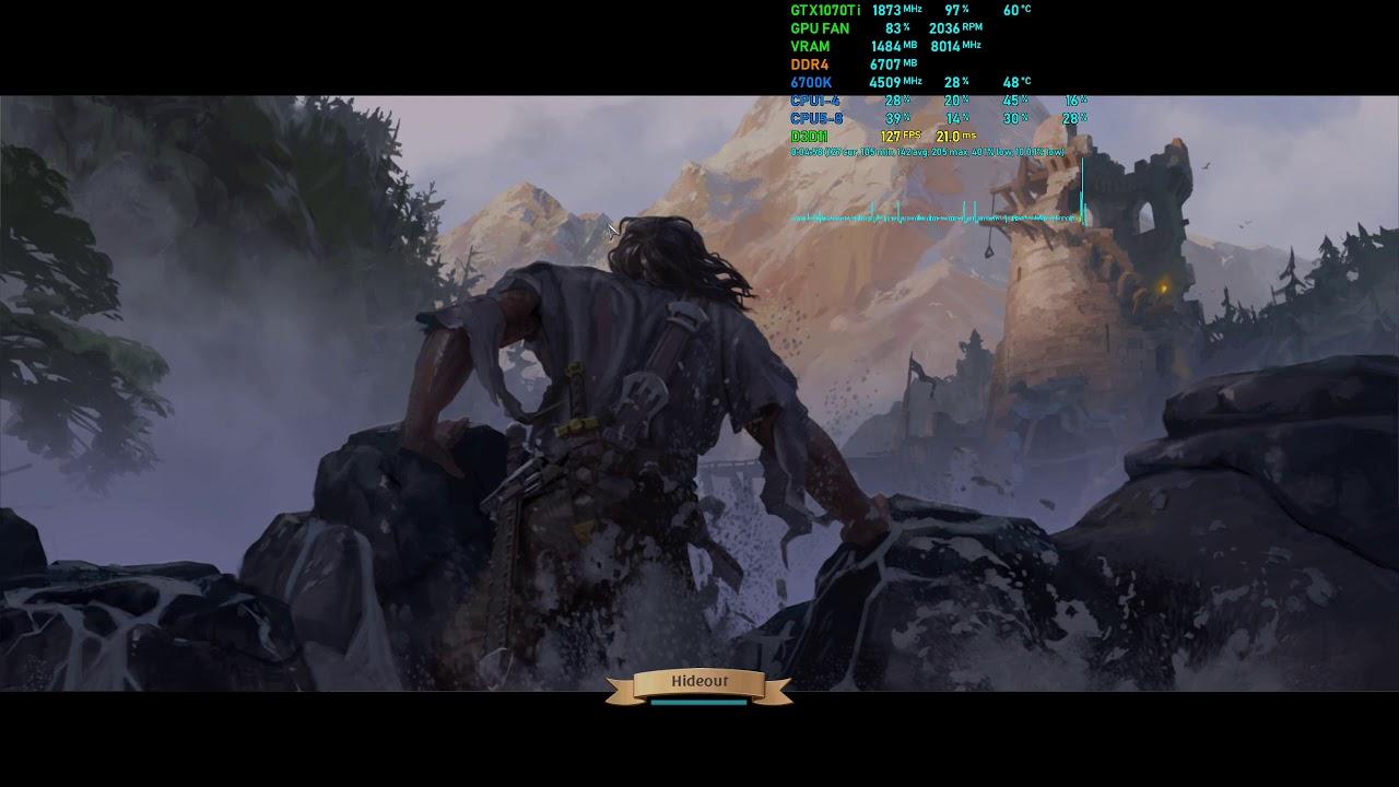 Albion Online - F2P MMORPG Gameplay FPS Test - GTX 1070 Ti + i7-6700k Ultra  1440p