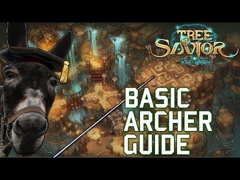 Tree of Savior  Basic Archer Guide