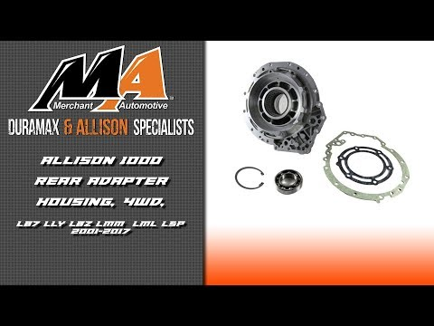 Product Spotlight: Allison 1000 Rear Adapter Housing - YouTube