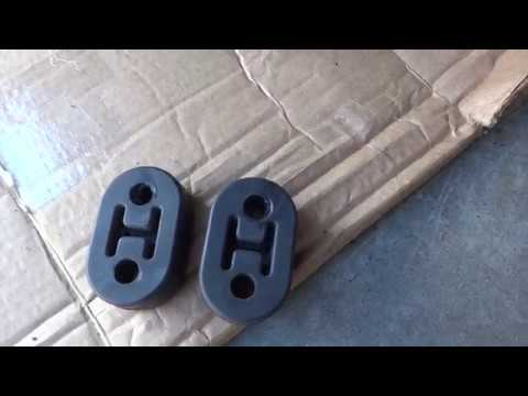 Easily Install And Remove Rubber Exhaust Hanger Isolator