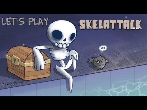 Let's Play: Skelattack pt 1 (I LOVE THIS GAME!!!) |
