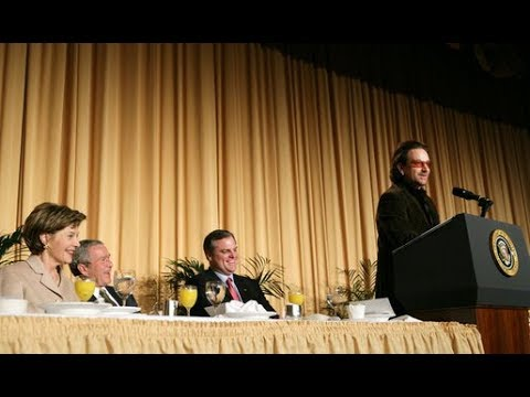 Bono Prayer Breakfast Speech (Audio Enhanced)