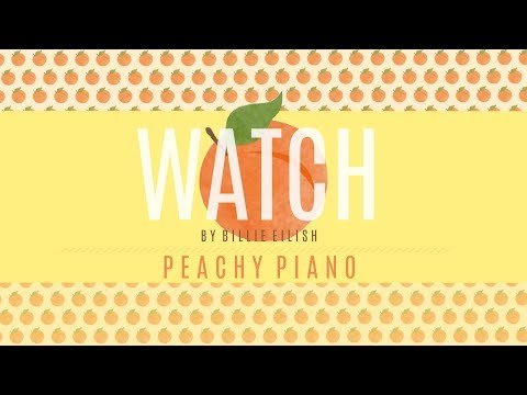 Watch - Billie Eilish | Piano Backing Track