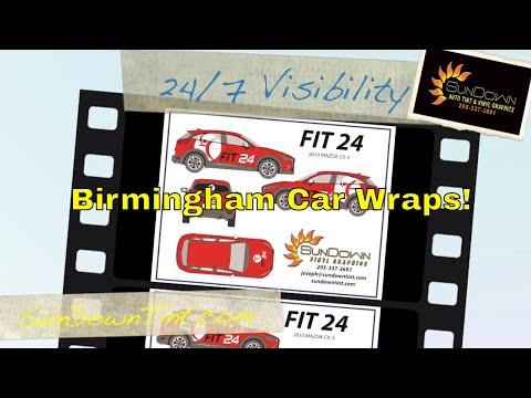 Birmingham Car Wraps  | Sundown Vehicle Wraps