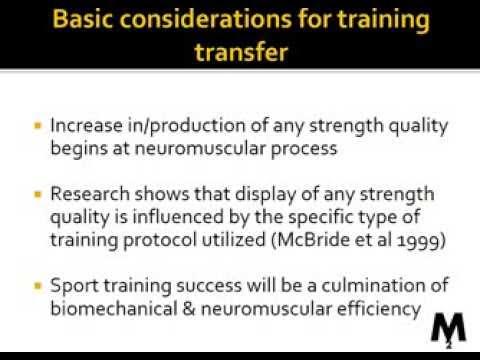 Movement Mastermind #1 - Training Transfer