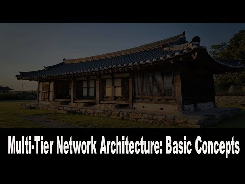 Multi-Tier Network Architecture: Basic Concepts