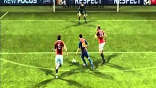 PES 2012-Amazing Goal!!-MESSI BARCA VS MILAN Thumbnail