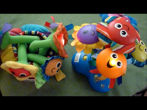 Review of Lamaze Chime Garden Soft Chime Garden Toys YouTube