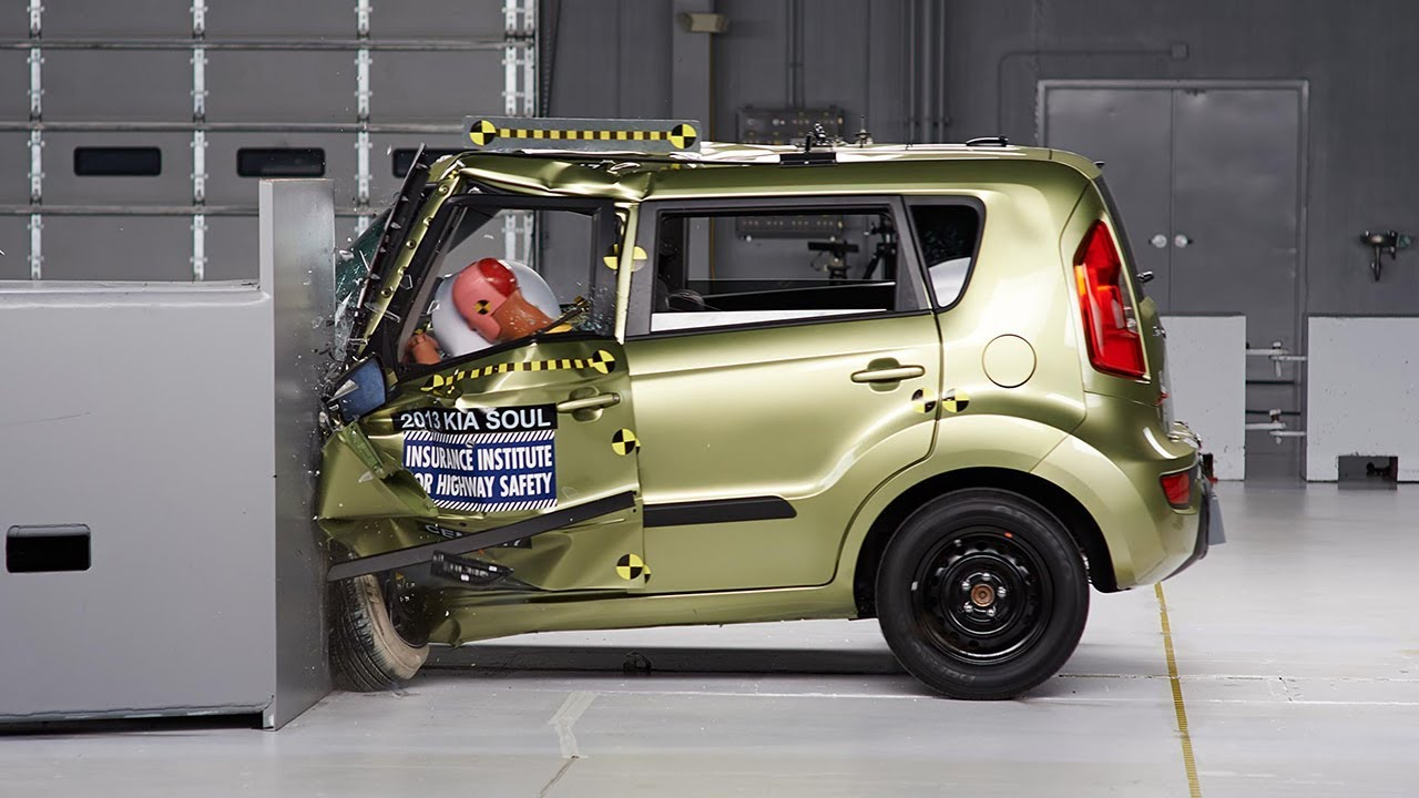 Charming 2013 Kia Soul Driver Side Small Overlap IIHS Crash Test   YouTube