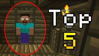 Top 5 scary minecraft herobrine sightings.. real or fake?! you decide!►twitter: http://www.twitter.com/only1gam3r►twitch: http://www.twitch.tv/only1gam3r►ins...