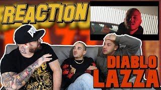 LAZZA - DIABLO   RAP REACTION 2017   ARCADE BOYZ contro HANO.it