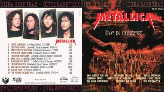 Metallica - Live In Concert [Full Bootleg Album (1992)]