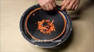 Latest Speaker Repair Video: Replace Speaker Surround Foam Edges