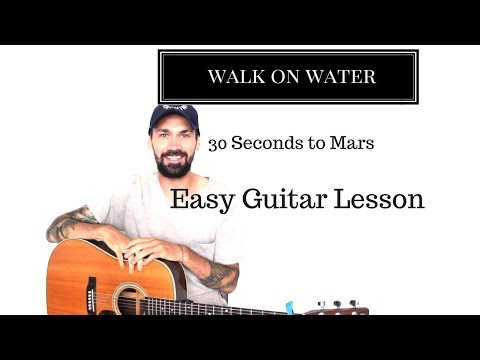 Thirty Seconds to Mars Walk on Water Guitar Lesson